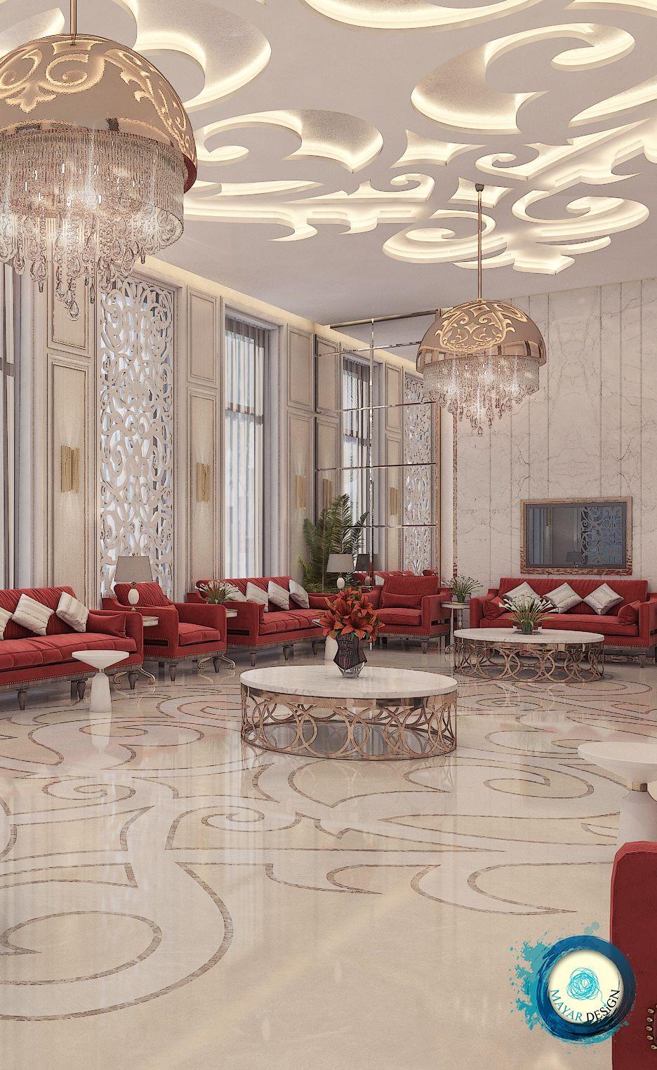 Majles In Dubai Ceiling Design Modern Ceiling Design Ceiling