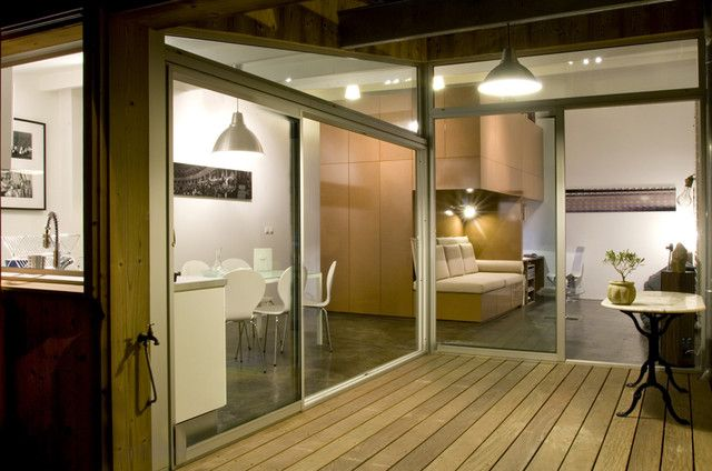 PASSAGE BUHAN : Aménagement Du0027un Garage En Une Mini Maison Moderne.