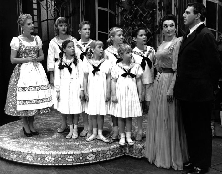 Sound Of Music Broadway 1959 Photo Courtesy Of The
