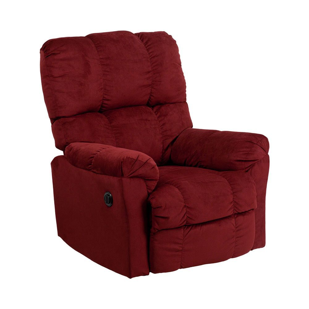 Peachy Contemporary Top Hat Berry Microfiber Power Recliner Arm Unemploymentrelief Wooden Chair Designs For Living Room Unemploymentrelieforg