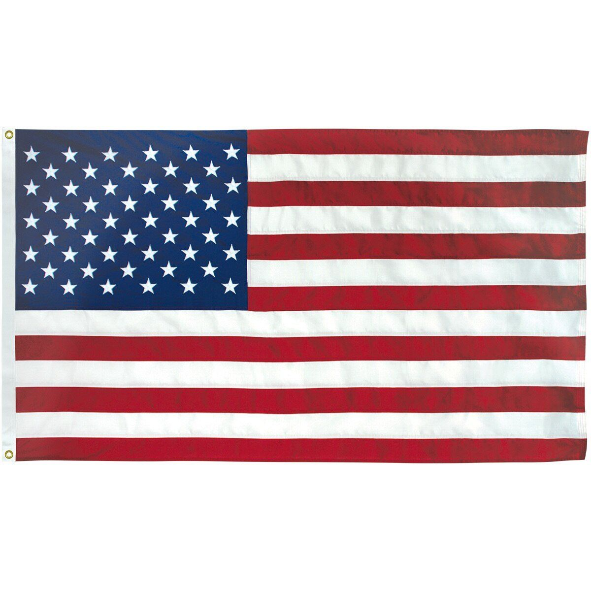 Polymax 2 Ply Polyester 3x5 American Flag With Grommets In
