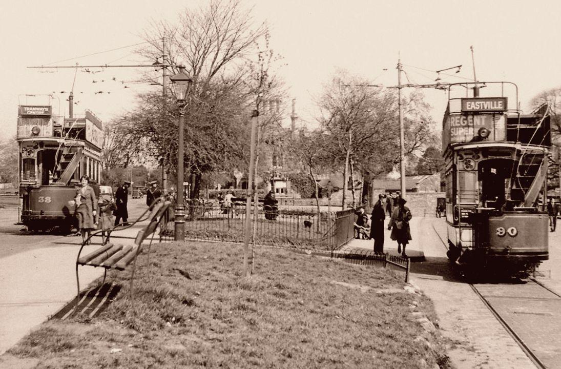 Bristol Trams 1930s.