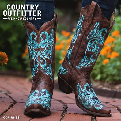 Awesome boots from Country Outfitter