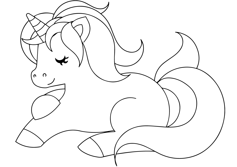 Resultado De Imagem Para Desenho De Unicornio Para Imprimir