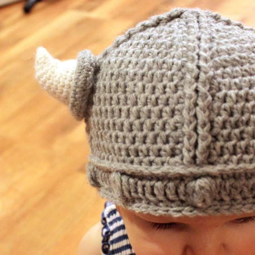 Cappello a uncinetto: schemi e modelli - Cappello da Vichingo | Knit ...