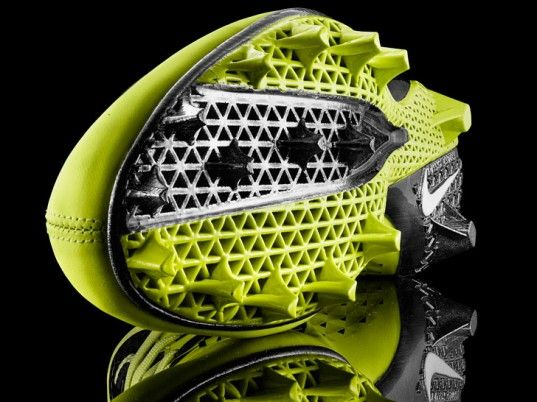 nike-vapor-laser-talon-3d-printing-cleat-4-537x402.jpg 537×402 Pixel.Join the 3D Printing Conversation: http://www.fuelyourproductdesign.com/
