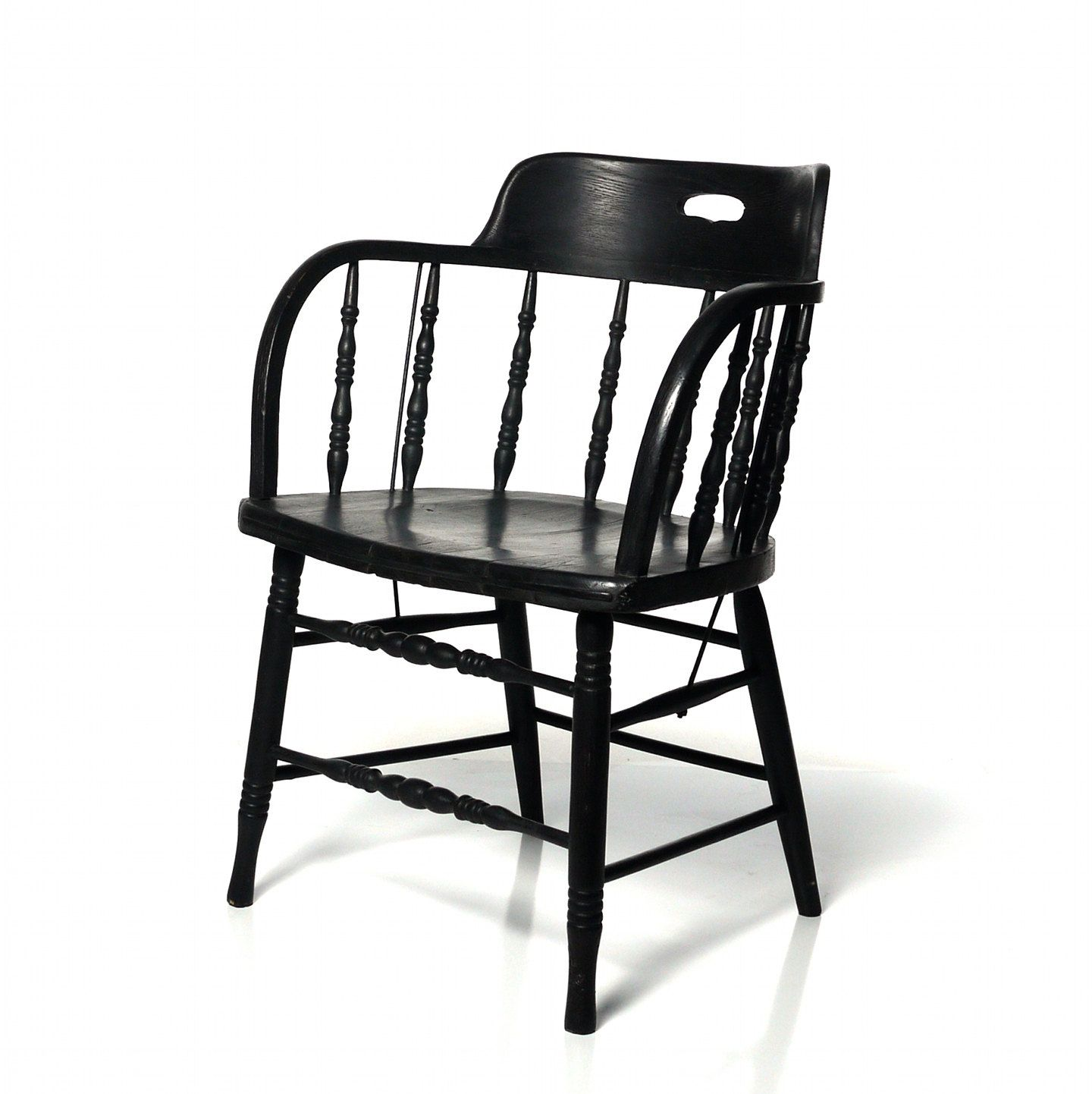 captain chairs dining room little tikes chair considering having my 39s painted black for