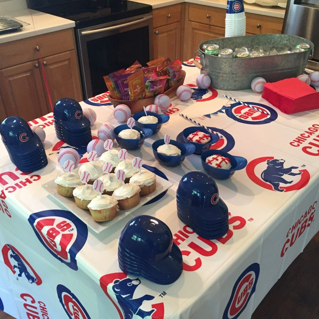 Chicago Cubs Themed Birthday Party!