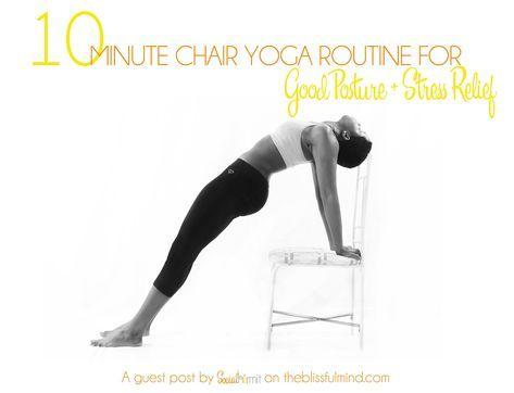 10 minute chair yoga routine  yoga und senioren