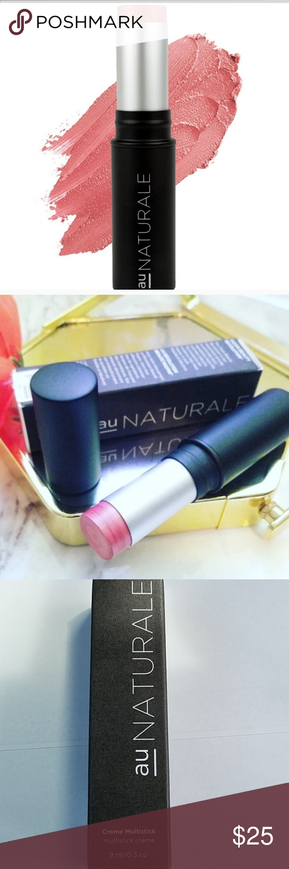 au Naturale Multistick Cream NWT Blush makeup, Things to