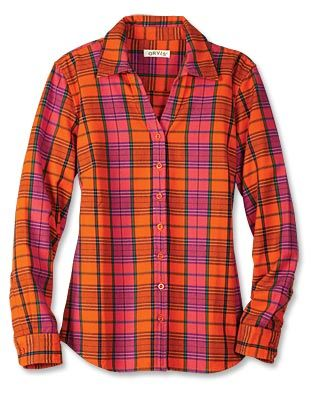 Just found this Womens Flannel Plaid Shirt - Bright Plaid Flannel Shirt --  Orvis on Orvis.com! 18ade62fd4