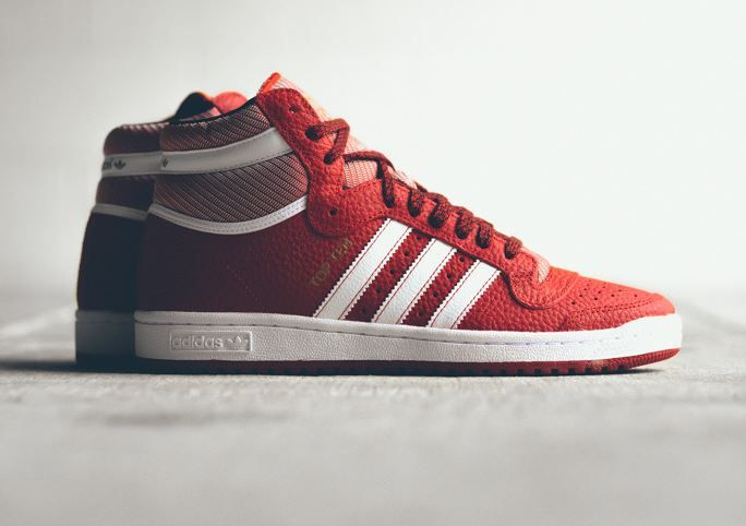 adidas Originals Top Ten: Rouge Chaussures Pinterest Adidas originals