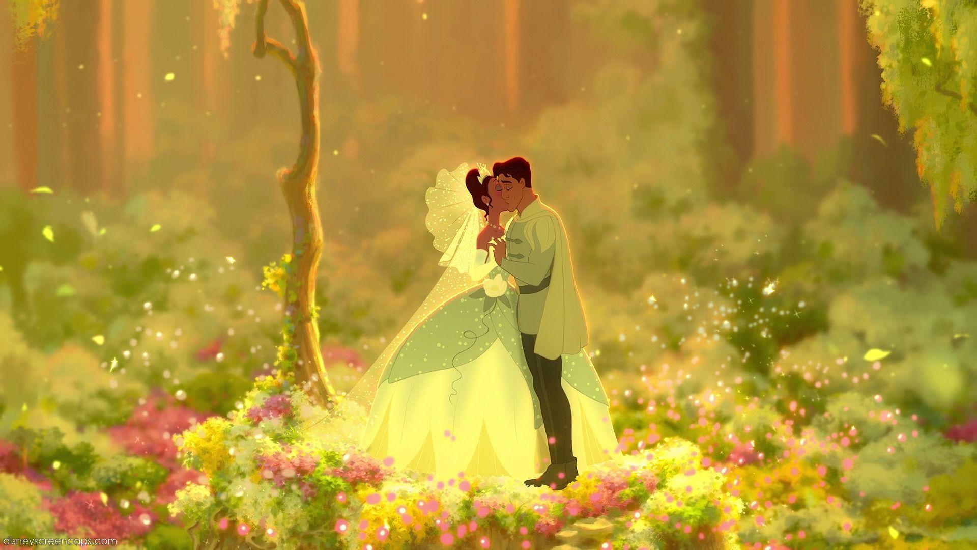 Prince Princess Kissing Hd Wallpaper Slubne Suknie Info