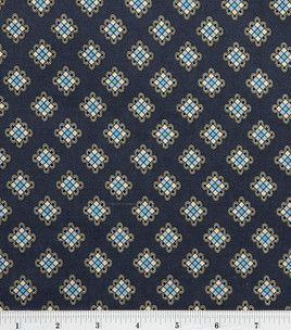 DS Quilts Collection - Daisy Mae Fancy Block Gray Teal (4 yds)