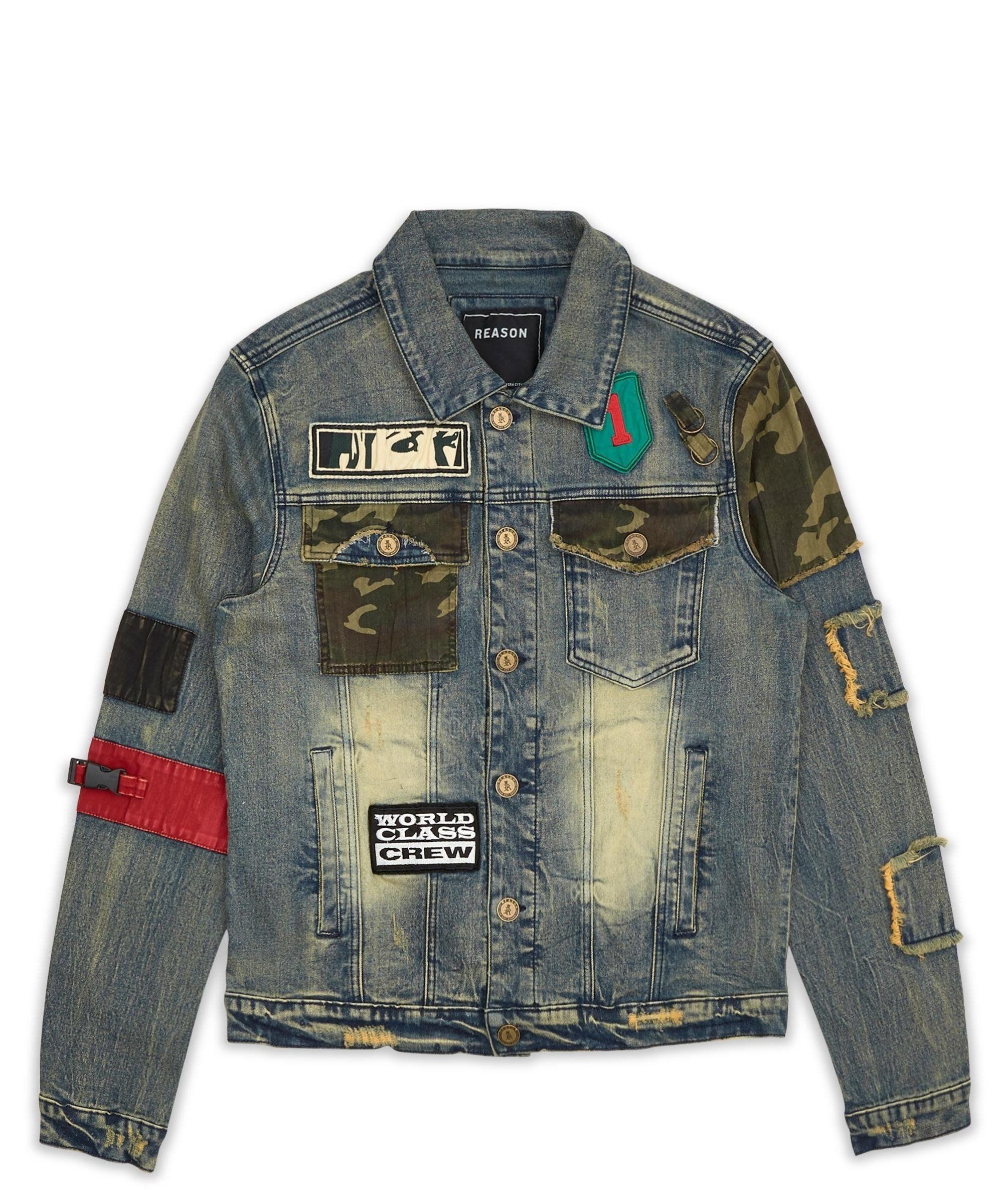 Camo Denim Jacket Denim Jacket Camo Denim Jacket Mens Jacket Pattern [ 2400 x 2000 Pixel ]