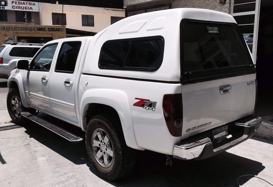 Campers Y Casetas De Fibra De Vidrio Para Pick Up Chevrolet