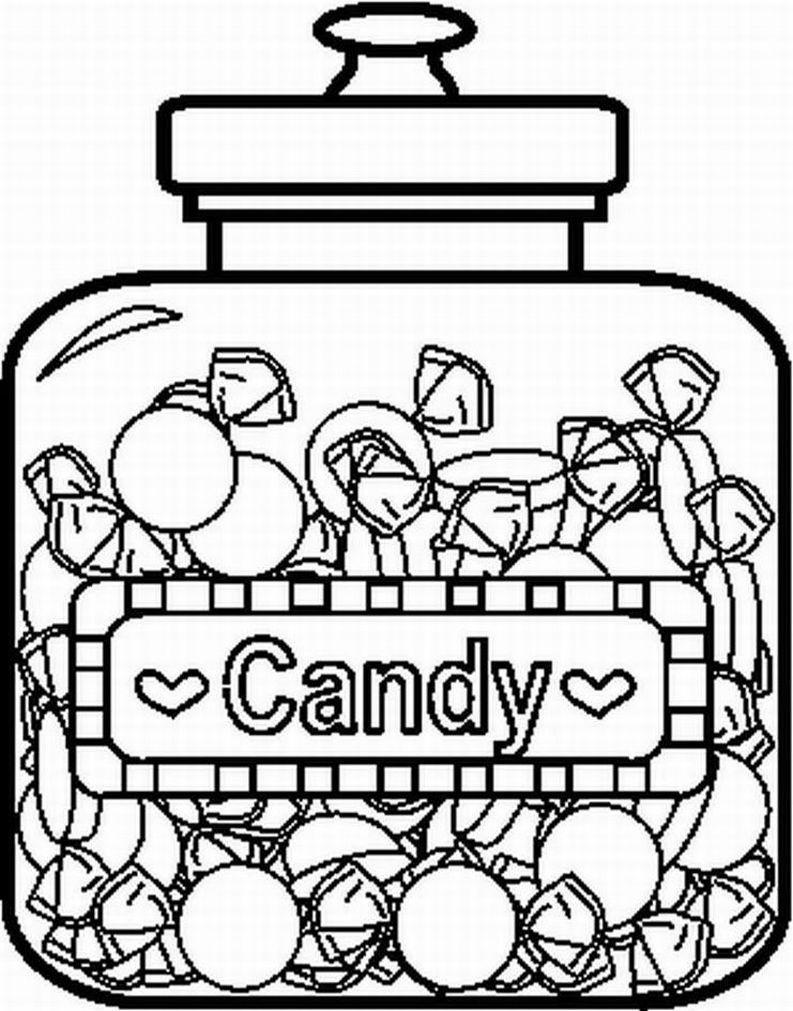 Coloring Page Candy Coloring Pages Coloring Pages Candy Crafts