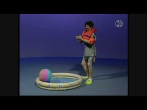 Elmo S World Asking Mr Noodle How Do You Swim In Water
