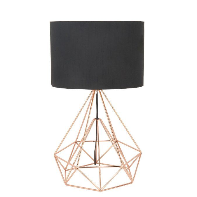 Buker Drum Shape 26 Table Lamp Lamp Wire Table Table Lamp