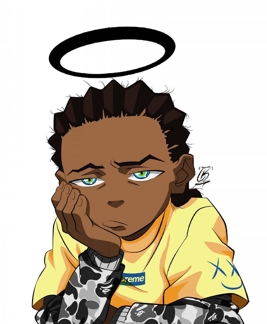 I might start slapping fools in the face just for living - Supreme boondocks ...