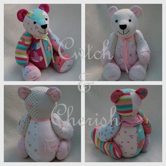 Memorybears Turn Baby Grows Into A Teddy With Images