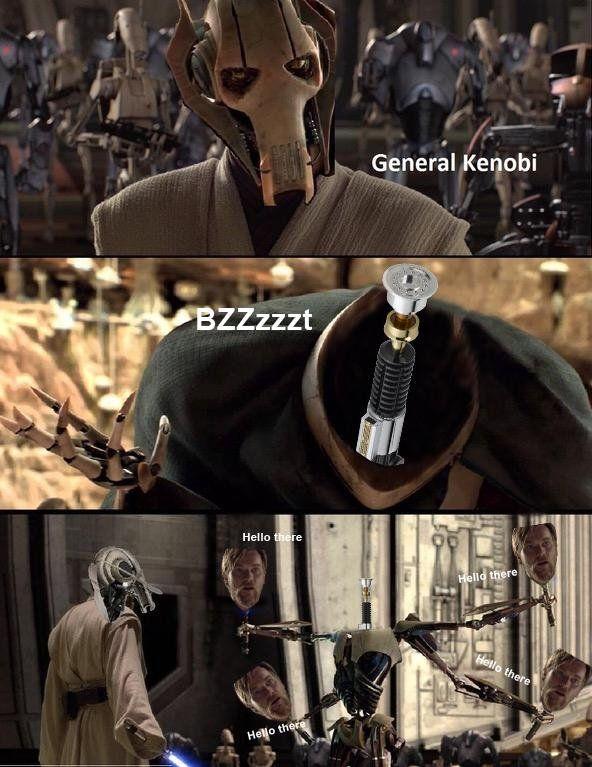 Hello There Imgur Star Wars Memes Star Wars Humor Star Wars Jokes