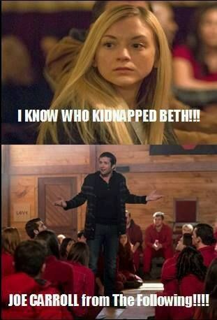 Who kidnapped Beth?