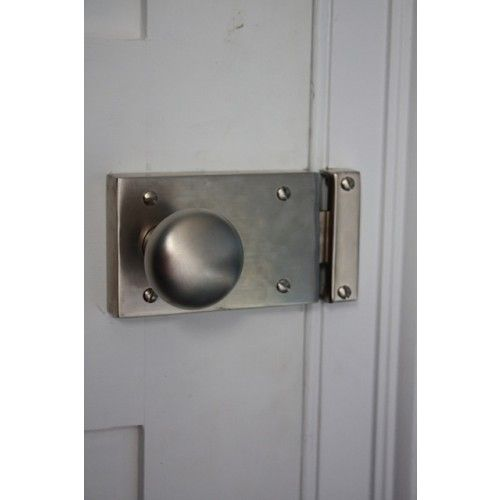 1181 inches Vintage Big Solid Brass Gate Door LATCH Bar Slot