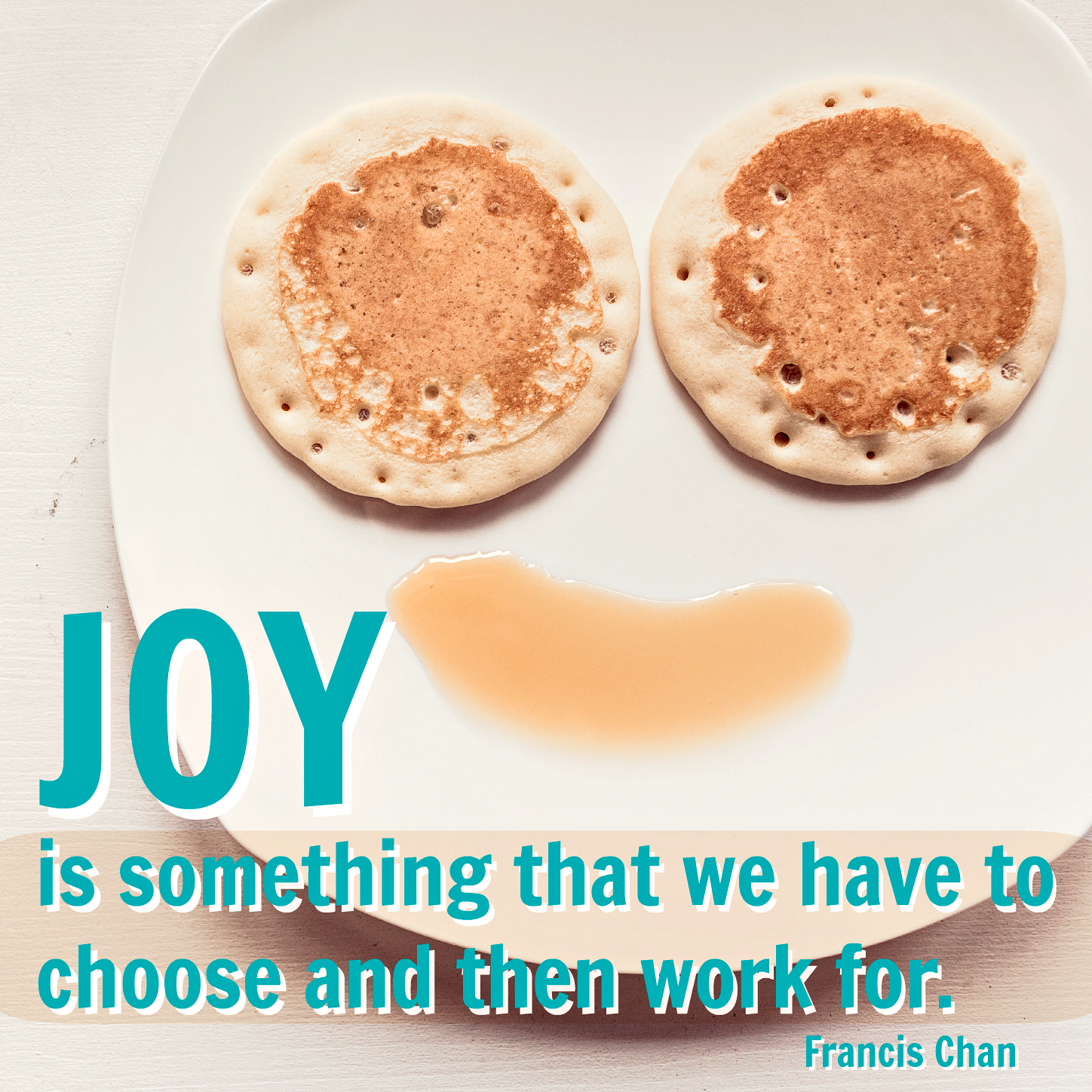 Joy is a choice, and we have to work for it! But so thankful for our true source of joy, God!