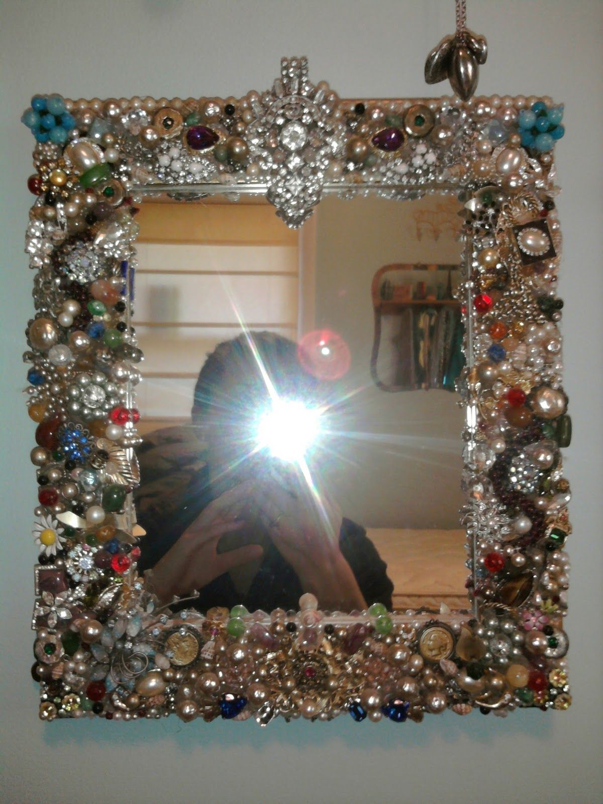 Mirror Frame Princess Sharing Is Caring Jewelry Mirror