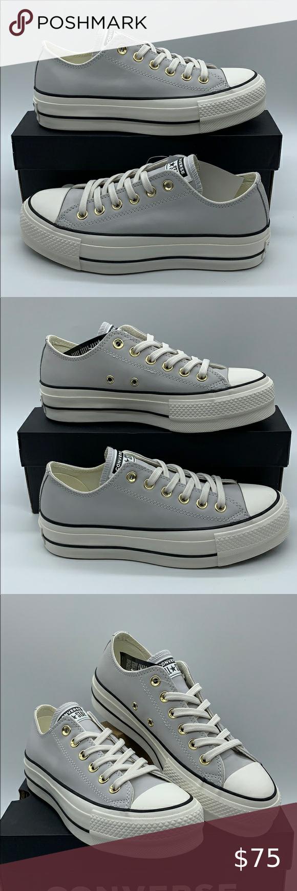 Aptitud Petición esconder  CONVERSE CTAS LIFT OX PLATFORM mouse/vintage white | Hand painted shoes,  Painted shoes, White vintage