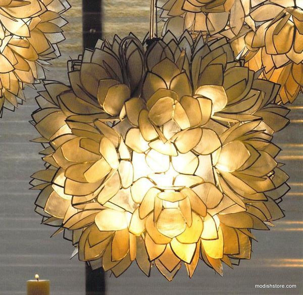 Roost lotus flower chandelier white flower chandelier lotus roost lotus flower chandelier white arubaitofo Images