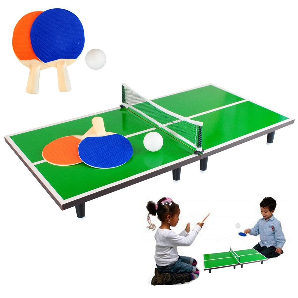 Classic Mini Desktop Table Tennis Game Toys Kids Parent Interactive Puzzle Desk Ping Pang Board Games Entertaining Ping Pong Ping Pong Table