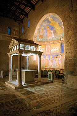 Castel Sant Elia Italia.Basilica Di Sant Elia Castel Sant Elia Viterbo Italy