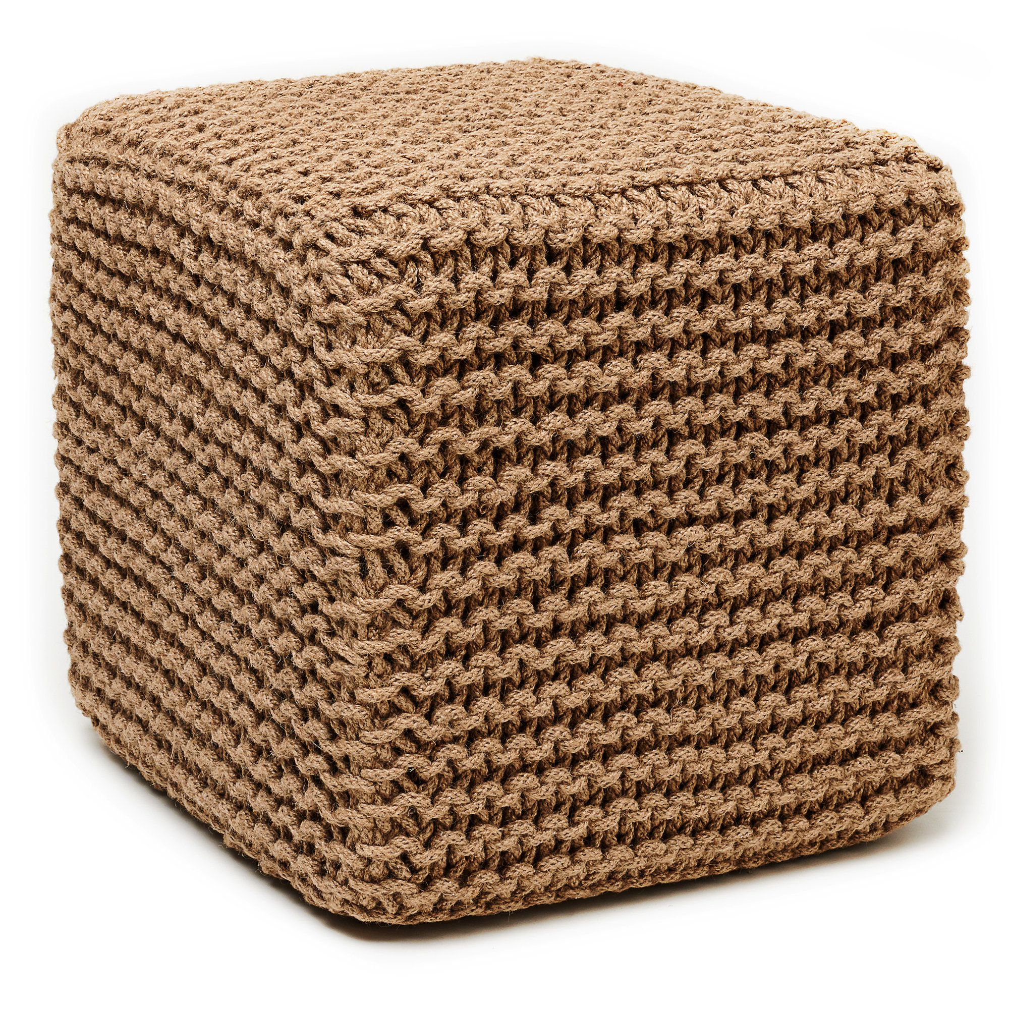pouf brown of sleeper poof modern seagrass outdoor wicker and fabric cube leather square size ottoman with contemporary large footstool coffee beautiful tray round folding footrest table