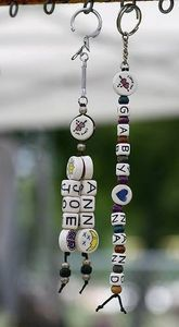 How to Make a Beaded Key Chain- easy peasy!