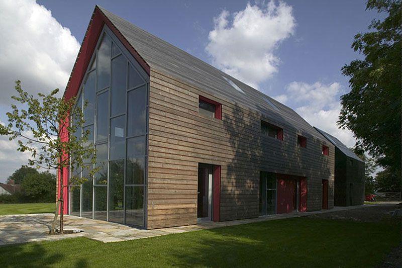 Sliding House By Drmm Architects Barn House Plans Modern Barn House Barn Style House