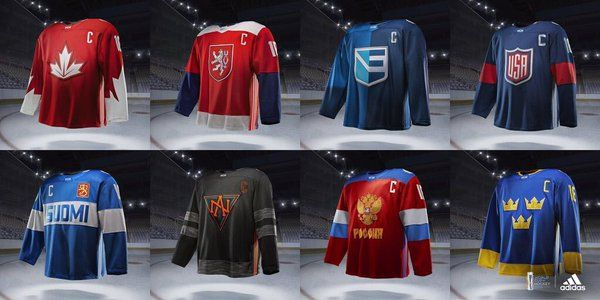 .@NHLPA @NHL & @adidas have released the jerseys for the World Cup of Hockey 2016.