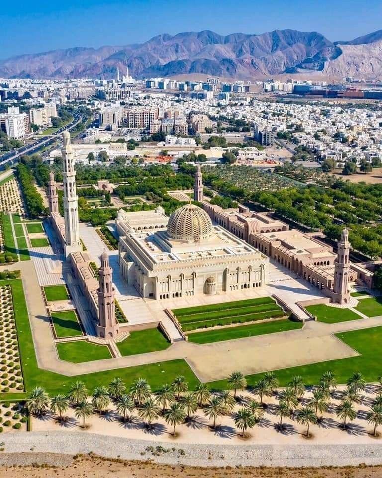 Sultan Qaboos Grand Mosque, Muscat, Oman | Sultan qaboos grand mosque, Grand  mosque, Sultan qaboos