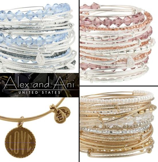 Alex and Ani bracelets In silver or gold please :)