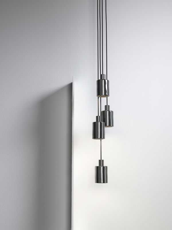 Chrome pendant light design