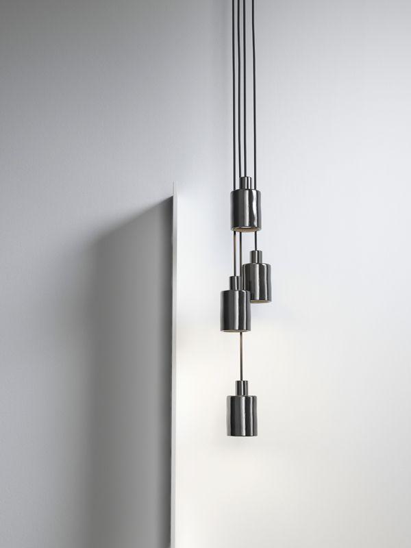 CAN lighting design by davidpompa chrome Barro Negro black