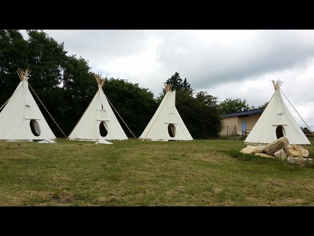 Tipis à Bessais-le-Fromental (18) - Réservez votre tipi sur Berry Province !