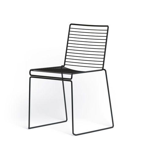 Hay Hee Dining Chair Drahtstuhl Metallstuhle Restaurant Stuhle