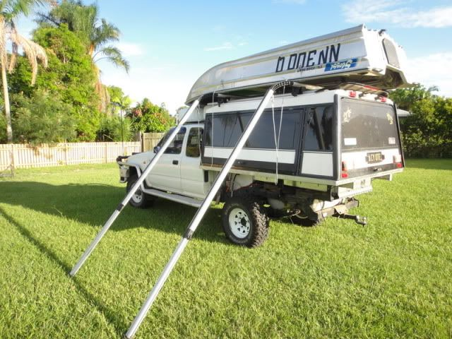 Roof Rack Conversion To Boat Loader Pickup Truck Camping