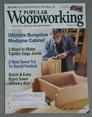 Popular Woodworking Medicine Cabinet Band Saw Jewelry Box Plans