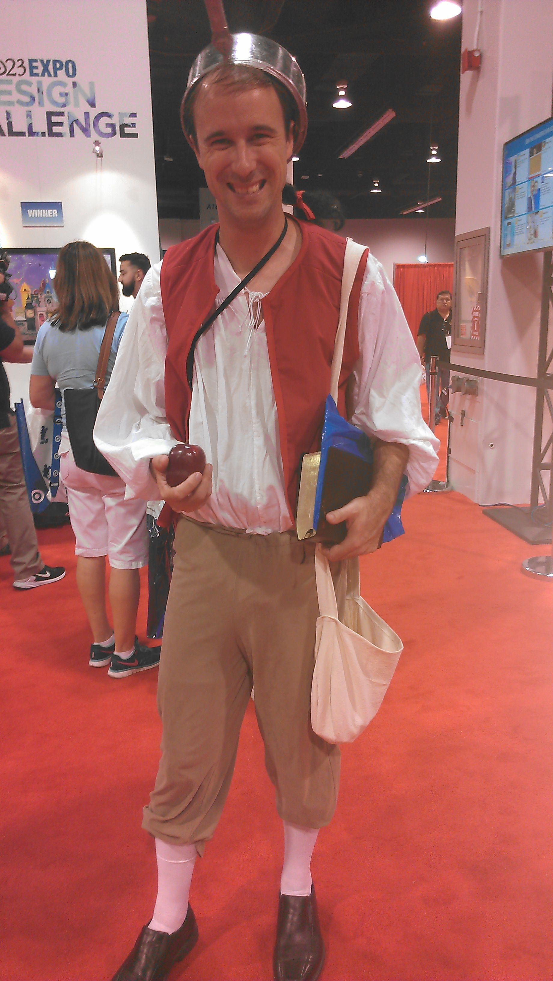 One Of My Favourite Costumes A D23 2015 Johnny Appleseed