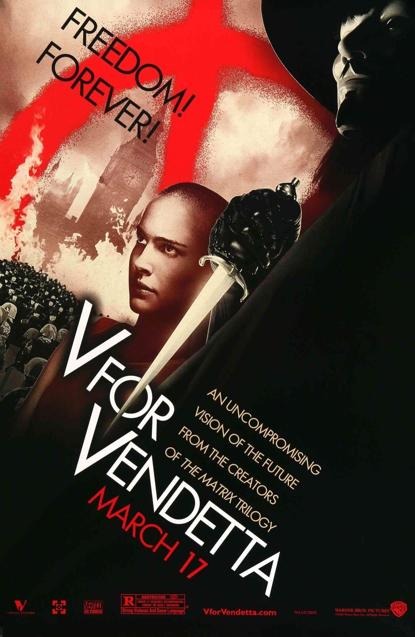 V For Vendetta (2006) V for vendetta, V for vendetta