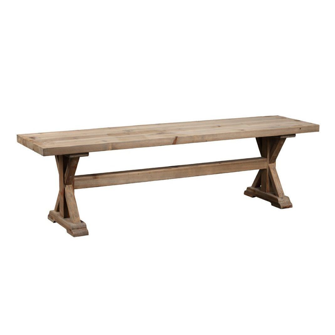Burnham Home Designs Torrance Dining Bench (Natural), Brown