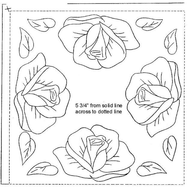 WB Surprise gift 3 roses b | 1 Patterns | Pinterest | Bordado ...